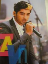 Zayn Malik, One Direction, Full Page Pinup