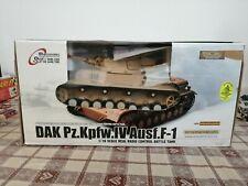 Dak Pz. Kpfw. IV Ausf. F-1 tank 1/16 1 16 HENG LONG MIB R/C Model rc unplayed 1