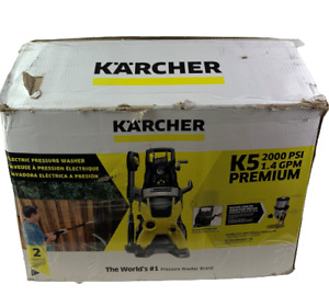 Karcher K5 1.603-361.0 Electric Corded 2000PSI Pressure Washer - Yellow
