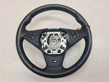 Genuine BMW Black Leather M Sport LCI Steering Wheel Fits E60 E61 E63 E64 2006 >