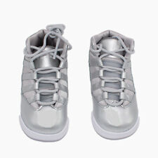 Nike Jordan Toddler Boys Max Aura Basketball Shoes Silver White MSRP $55.00
