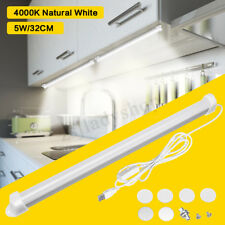 LED 5W Strip Bar Light Tube Lamp Kitchen Cupboard Under Cabinet Switch