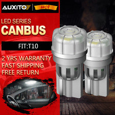 2X AUXITO T10 194 168 W5W CANBUS License Plate Interior Wedge Light Bulb 1KG3T