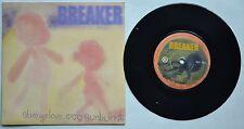 """BREAKER Strangelove (UK 2-track 7"""" vinyl single, also includes Sunburnt)"""