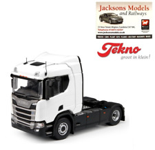 Tekno 70940 Scania R Series 4x2 Sleeper Cab RHD Plain White 1:50 Scale