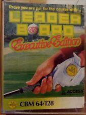 Leaderboard  Executive Edition (US Gold, 1987) C64 Kassette (Tape) 100 % ok