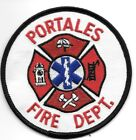 """Portales  Fire Dept., New Mexico  (3.5"""" round size)  fire patch"""