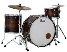 "Pearl Wood/Fiberglass Limited Drums Shellset 26""/13""/16"" Satin Cocoa Burst"