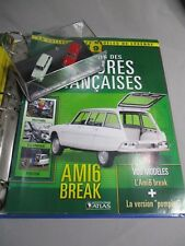 DV8481 ATLAS 1/87 CITROEN AMI 6 BREAK TOURISME 1968 / AMI 6 BREAK POMPIER 1968