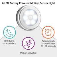 Motion Sensor Closet Light Battery Powered LED Stick on Night Light Wall Light