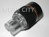 ppl80 Rhodium IEC C13 Mains Power Plug Female Copper Connector Cable Cord HiFi