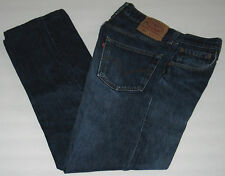 LEVI'S 501 W32 x L27.5 Blue Straight Leg, Button Fly Jeans