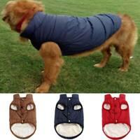 Haustier Hunde Katze Kleidung Fleece Winterjacke Hundepullover Warm Weste Mantel