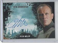 Star Trek Beyond Movie Peter Weller Darkness Autograph