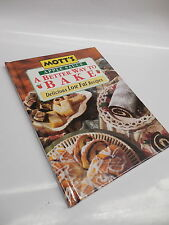 Mott's Apple Sauce Better Way To Bake Cookbook Low Fat Free Recipe Guide Book