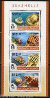 SOLOMON ISLANDS 2015 SEASHELLS SHEET   MINT NH