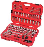 CRAFTSMAN Mechanics Tool Set, SAE / Metric, 135-Piece, Chrome finish (CMMT12024)