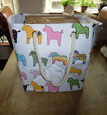 Canvas Animal Print Toy Boxes & Chests