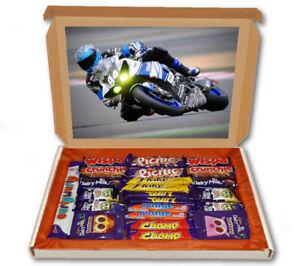 Super Bike Motorbike Race 24 Bar Cadbury Chocolate Hamper Personalised Gift Box