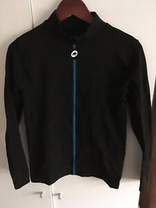 Assos Mens Cycling L/S Base Layer Label Reads L - XL