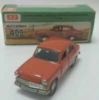 MOSKVITCH 403 NOVOEXPORT SCALA 1/43 MINT BOX ARANCIONE VERY RARE MADE IN URSS