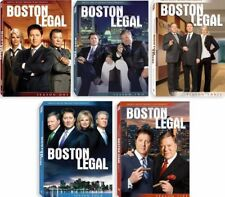 BOSTON LEGAL Seasons 1-5 on DVD - Complete Series Season 1 2 3 4 5 - 28 Disc Set