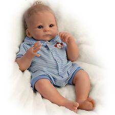 "Benjamin  So Truly Real - 17"" Baby Doll by Ashton Drake new NRFB"