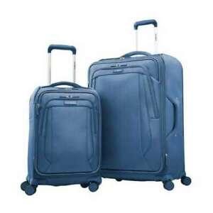 Samsonite Sahora NXT 2-Piece Softside Luggage Set, BLUE (1798)