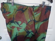 BARBOUR- A95 CAMOUFLAGE TROUSERS -WAXED COTTON- MADE @UK- NEW OLD STOCK -RARE-LG