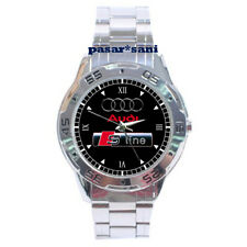 NEW AUDI S-LINE MUSCLE CAR MOTOCARS Custom Men Wrist Watch Gift Watches