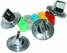 Camco 00903 Electric Range Knobs Top Burner (Chrome)