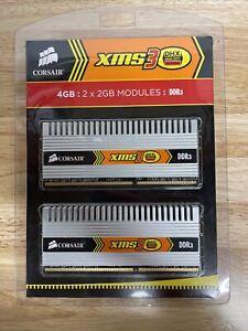 CORSAIR XMS3 DHX 4GB 2x2GB DDR3 1600MHZ CM3X2G1600C9DHX DIMM GAMING RAM 9-9-9-24