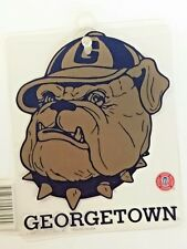 NCAA Georgetown Hoyas Suction Cup Window Sign, NEW
