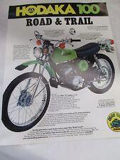 Vintage Hodaka 100 road toad new dealers sale lit mint perfect