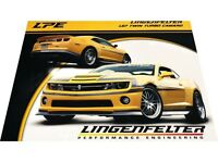 Lingenfelter Chevrolet Twin Turbo Camaro 1-page Car Brochure Card 2011 2012 2010