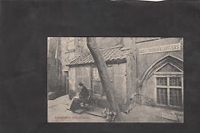 View of the Greyfriors, Cloisters, Gt Yarmouth, Stamp/Postmark 1907