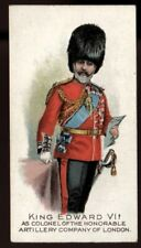 Edwards Ringer Bigg,PORTRAITS OF HIS MAJESTY THE KING IN UNIFORMS,1902,Artillery