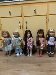 our generation doll Lot of 5 beautiful dolls