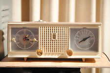 zenith tube clock radio