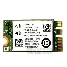 Atheros QCNFA435 AC WIFI WLAN CARD + Bluetooth 4.1 802.11ac 01AX718/709/00JT477