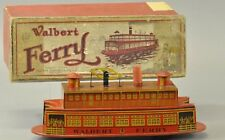 Walbert Ferry Boat Vinatge Wind Up Toy RARE
