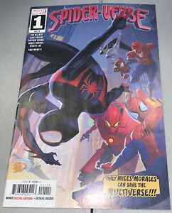 Spider-Verse #1 Marvel Miles Morales 2019 1st App Appearance Spider Zero