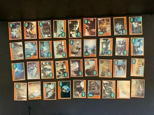 1977 Topps Star Wars 5th Series 5 Complete 66 Orange Card Set Excellent Cond