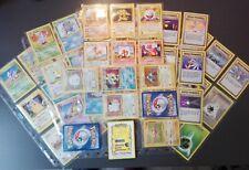 Pokemon Lotto Set Base Completo al 92/102 con 1st Prima edizione - x6 Holo Rare