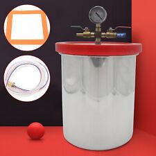 Vakuumkammer Vakuum Chamber Unterdruckpumpe Edelstahl Entgasungskammer Labor Use