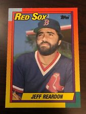 1990 Topps Traded Jeff Reardon Boston Red Sox 101T