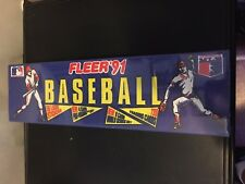 1991 FLEER Baseball Card Factory Set Sealed NM/M Condition 720 CARDS + STICKERS
