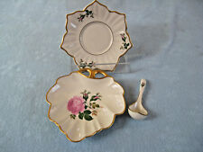 Vintage 3 Pieces Pickard China Shell Shape Candy  Dish, Star Shaped Dish & Star