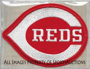 1975 CINCINNATI REDS ~ Willabee &  Ward COOPERSTOWN COLLECTION TEAM PATCH ~ NEW