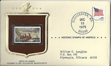 Winslow Homer Historical Stamps of America Sealed in Envelope 1979